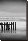 Old Pier I Stretched Canvas Print by Shane Settle