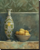 Tuscan Vase I Stretched Canvas Print by Louise Montillio