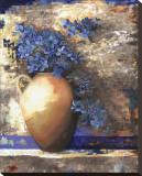 Provence Urn II Reproduction transférée sur toile par Louise Montillio