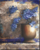 Provence Urn I Stretched Canvas Print by Louise Montillio