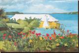 Flower Garden and Bungalow, Bermuda, c.1899 Leinwand von Winslow Homer