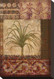 Ornamental Palm II Stretched Canvas Print by Gene Ouimette