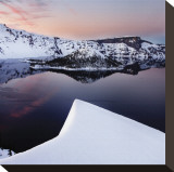 Crater Lake Stretched Canvas Print by Shane Settle