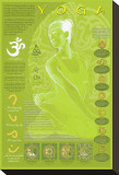 Yoga and Its Symbols Reproduction transf&#233;r&#233;e sur toile