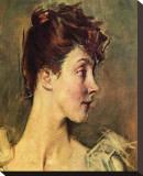 Portrait of Countess von de Leusse Stretched Canvas Print by Giovanni Boldini