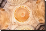 Dome, San Francisco City Hall Stretched Canvas Print by Harold Davis
