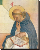 South Domenico, c.1387-1455 Stretched Canvas Print by Fra Angelico