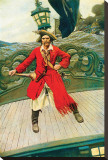 Captain Keitt Stretched Canvas Print by Howard Pyle