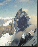 Matterhorn from West Stretched Canvas Print by Eugen Bracht