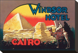 Windsor Hotel, Cairo Stretched Canvas Print