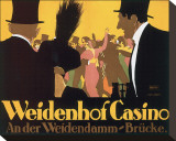 Weidenhof Casino Stretched Canvas Print by Ernst Lubbert