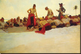So The Treasure Was Divided Canvastaulu tekijn Howard Pyle