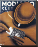 Modiano Club Specialite Stretched Canvas Print