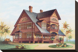 Victorian House, No. 14 Stretched Canvas Print