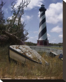 Cape Hatteras II Stretched Canvas Print by Steve Hunziker