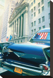 1959 Cadillac Fleetwood Brougham Stretched Canvas Print by Graham Reynolds