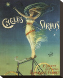 Cycles Sirius Stretched Canvas Print by Henri Gray