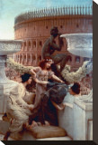 The Colosseum Stretched Canvas Print by Sir Lawrence Alma-Tadema