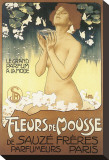 Fleurs de Mousse de Sauze Freres Leinwand