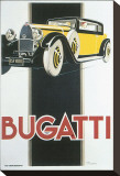 Bugatti Stretched Canvas Print by René Vincent