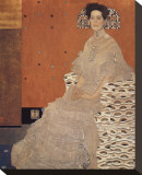 Portrait of Fritza Riedler Stretched Canvas Print by Gustav Klimt