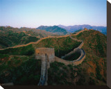 Great Wall of China Stretched Canvas Print