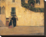 Campo San Giovanni Nuovo Stretched Canvas Print by James Wilson Morrice
