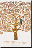 The Tree of Life Pastiche Marzipan Leinwand von Gustav Klimt