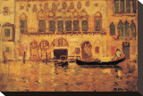 Old Palace, Venice Stretched Canvas Print by James Wilson Morrice