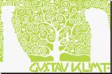 The Tree of Life (Kirie III Trykk på strukket lerret av Gustav Klimt