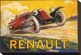 Renault Stretched Canvas Print by De Bay