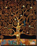 Under the Tree of Life Reproduction sur toile tendue par Gustav Klimt