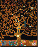 Under the Tree of Life Płótno naciągnięte na blejtram - reprodukcja autor Gustav Klimt