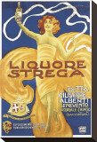 Liquore Strega Stretched Canvas Print by Alberto Chappuis