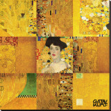 Adele Bloch Bauer Stretched Canvas Print by Gustav Klimt