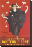 Les Dentifrices Du Docteur Pierre Stretched Canvas Print by Leonetto Cappiello
