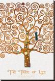The Tree of Life Pastiche Marzipan Reproduction transférée sur toile par Gustav Klimt