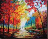 Autumn Impressions Płótno naciągnięte na blejtram - reprodukcja autor Maya Green