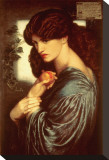 Proserpine, c.1874 Stretched Canvas Print by Dante Gabriel Rossetti