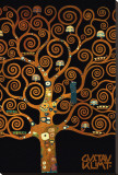 In the Tree of Life Reproduction sur toile tendue par Gustav Klimt