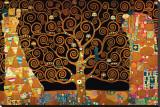 The Tree of Life (Interpretation) Leinwand von Gustav Klimt