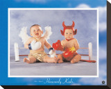Heavenly Kids, Good Wins Reproduction transférée sur toile par Tom Arma