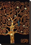 In the Tree of Life Reproduction transférée sur toile par Gustav Klimt