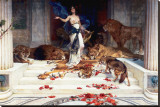 Circe Stretched Canvas Print by Wright Baker