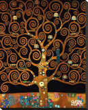 Under the Tree of Life Reproduction sur toile tendue par Gustav Klimt