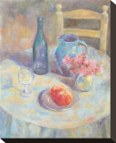 Still Life Stretched Canvas Print by Edward Armitage