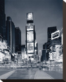 New York Times Square Stretched Canvas Print