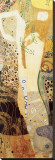 Water Serpents, c.1904-07 Stretched Canvas Print by Gustav Klimt