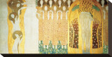 Beethoven Frieze, c.1902 (detail) Stretched Canvas Print by Gustav Klimt