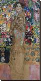 Portrait of Ria Munk III (Frauenbildnis) Leinwand von Gustav Klimt